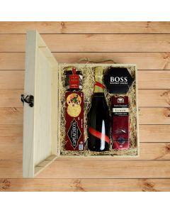 Prince William Champagne Box