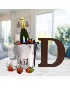 """""""Champagne Celebration For Dad"""" Gift Basket"""
