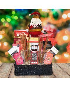 The Egg Nog and Cinnamon Christmas Gift Basket