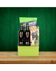 Simple Beer & Snacks Basket