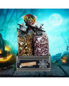 Halloween Party Popcorn Basket