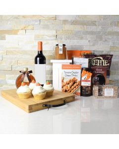 Thanksgiving Wine & Snacks Set