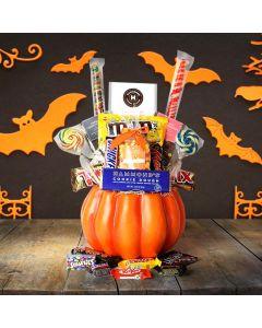 Halloween Basket of Sweets
