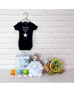 BABY BOY PLAYTIME BASKET