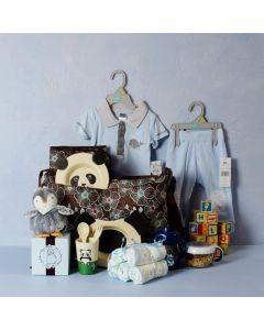 Baby Boy Daycare & Feeding Set
