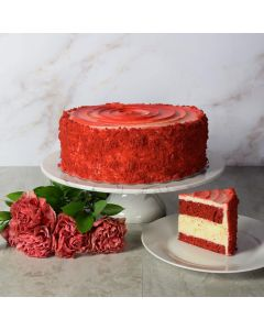 Large Red Velvet Cheesecake