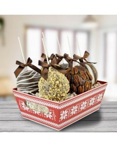 The Cozy Chocolate Apple Basket