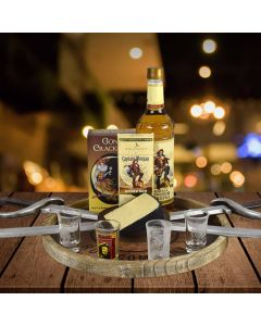 Captain Morgan Black Spiced Rum Gift Basket