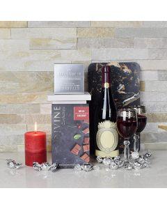 Opulent Truffles & Wine Gourmet Gift Basket