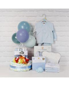 BABY BOY'S CELEBRATION GIFT SET