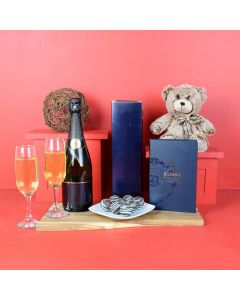 Decadence For 2 Champagne Gift Basket