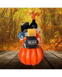 The Plump Pumpkin Thanksgiving Gift Basket