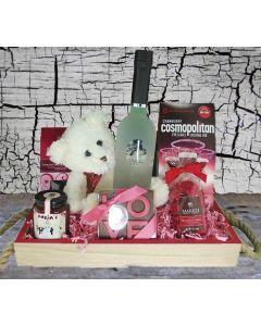 "The ""Cosmo Mom"" Liquor Gift Basket"