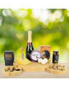 Gourmet Elegance Champagne Gift Set