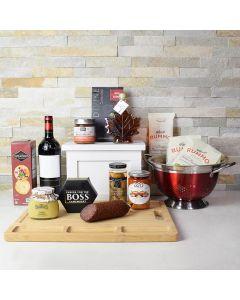 Wine & Pasta Lover Gift Basket