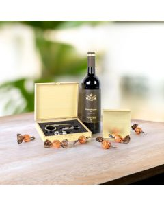 Wine & Truffles Gift Set