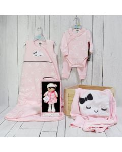 BABY GIRL WELCOME CRATE
