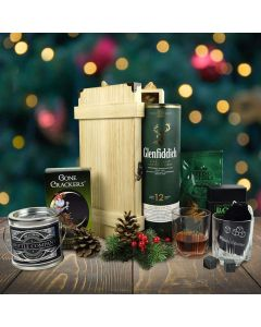 An Evergreen Christmas Gift Basket