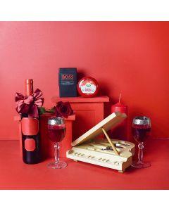Grand Piano & Wine Gift Set
