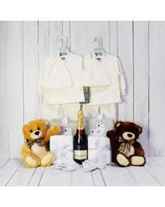 CONGRATULATIONS FOR THE TWINS GIFT SET