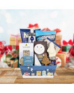 Snowy Snack & Liquor Gift Set