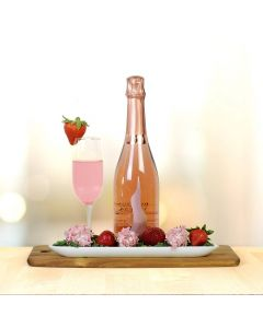 Mother's Day Champagne & Chocolate Dipped Strawberries