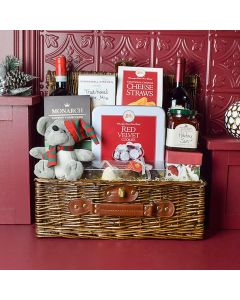 Ample Holiday Wine & Treats Gift Set