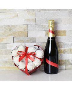 Champagne & Chocolate Strawberries Gift Box