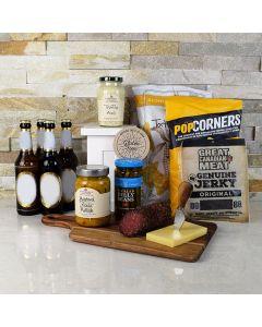 Savory Snacks & Beer Gift Basket