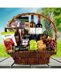 Plentiful August Bounty Kosher Gift Basket