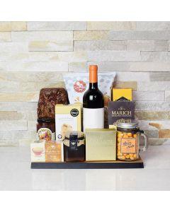 Honey, Tea & Wine Gift Basket