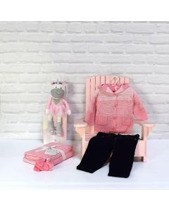 BABY GIRLS FIRST PAIR OF JEANS GIFT SET