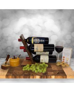 Quattro Vini Gift Basket - Premium Vintage Wines