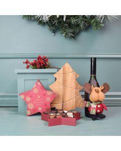 Merry & Bright Christmas Basket
