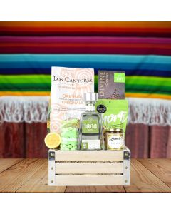 Tequila & Tortilla Chips Gift Basket
