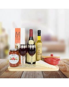 Italian Countryside Wine Gift Set