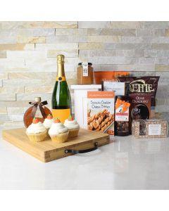 Thanksgiving Champagne & Snacks Set