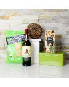 Liquor & Savory Snacks Basket