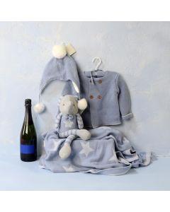 BABY BOY'S COMFORT & CELEBRATION SET