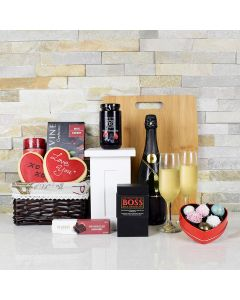 Romance from Venice Gift Basket