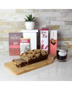 Decadent Coffee & Cake Gift Basket