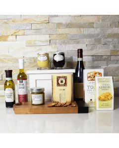 Gourmet Accents & Wine Gift Basket