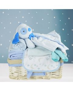 You Are My Little Star Baby Boy Gift Basket