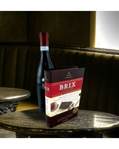 Brix Book & Wine Gift Set