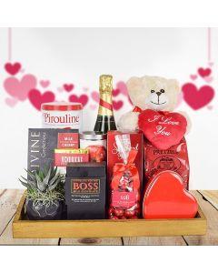 """Celebrating the Mom I Love"" Gift Basket"