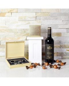 Wine & Truffles Gift Basket