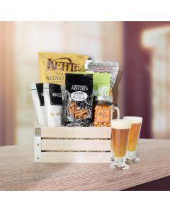 Pretzels & Popcorn Snack Crate