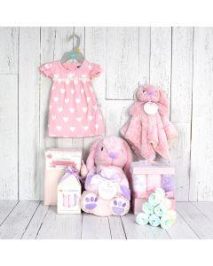 The Pink Rabbit Basket