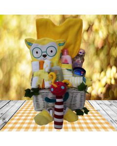 The Clever Critter Baby Gift Basket
