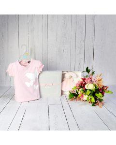 WELCOME HOME BABY GIRL GIFT SET